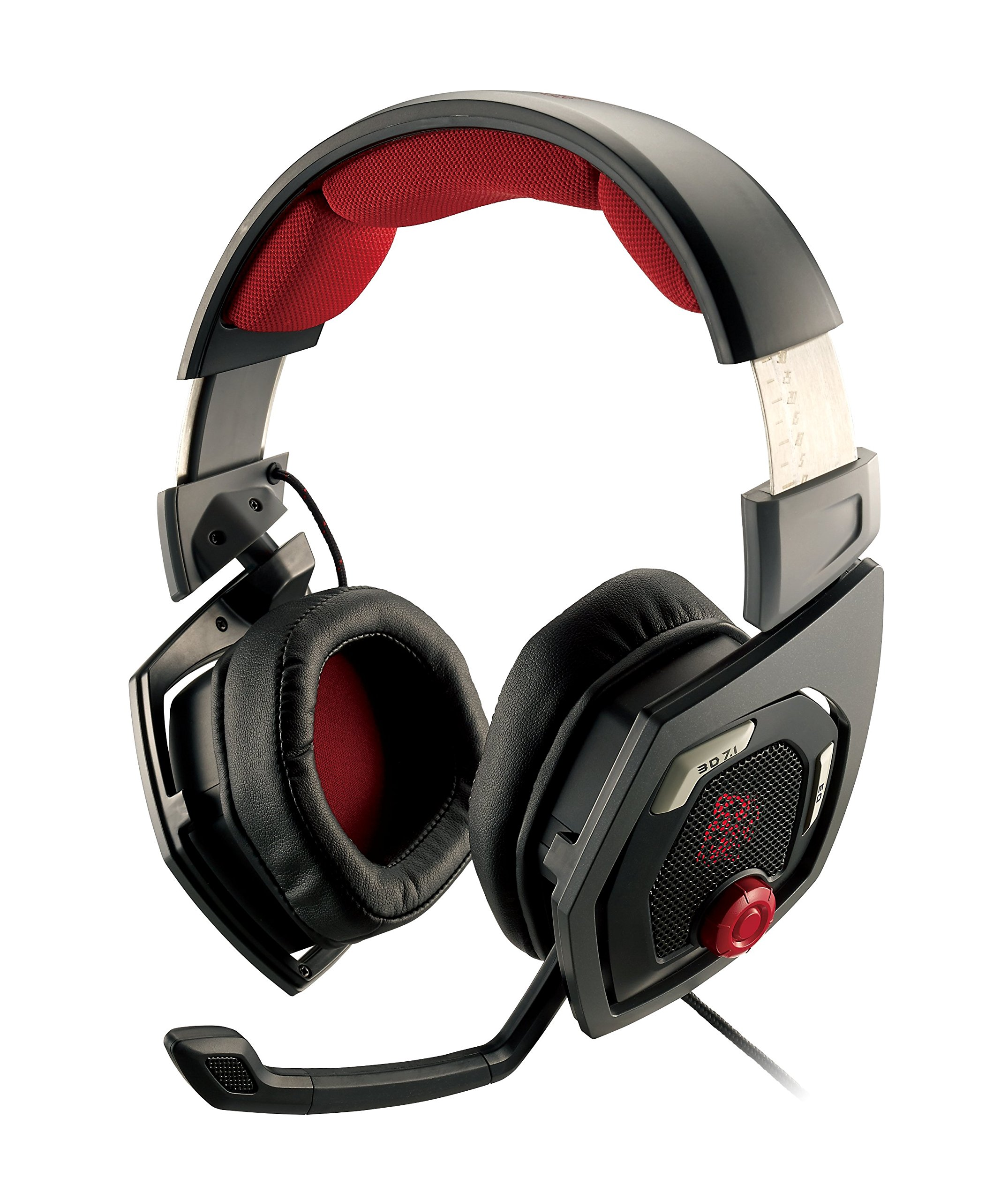 Tt eSPORTS Shock 3D 7.1 Surround Sound Gaming Headset...