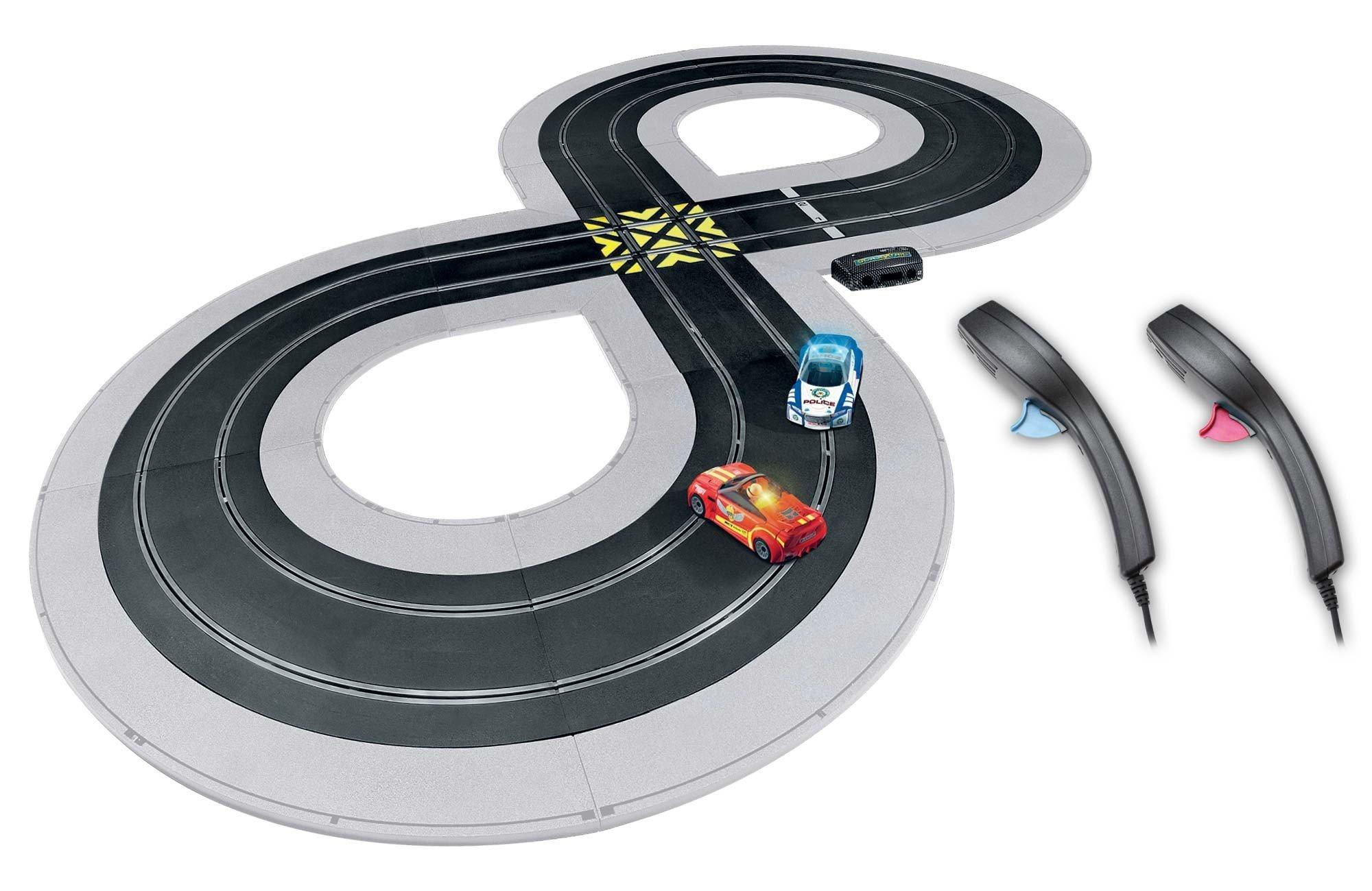 Scalextric C1323T Quickbuild Cops N Robbers 1:32 Slot Car Race Set