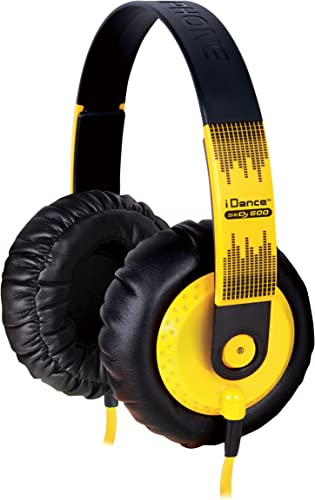 IDANCE SeDJ-600 DJ Headphones, Yellow