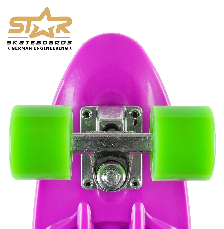 STAR-SKATEBOARDS/® Vintage Cruiser Board ★ 22er Diamond Class ★
