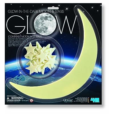 4M - Phosphorescent - Pack Lune + 10 Etoiles