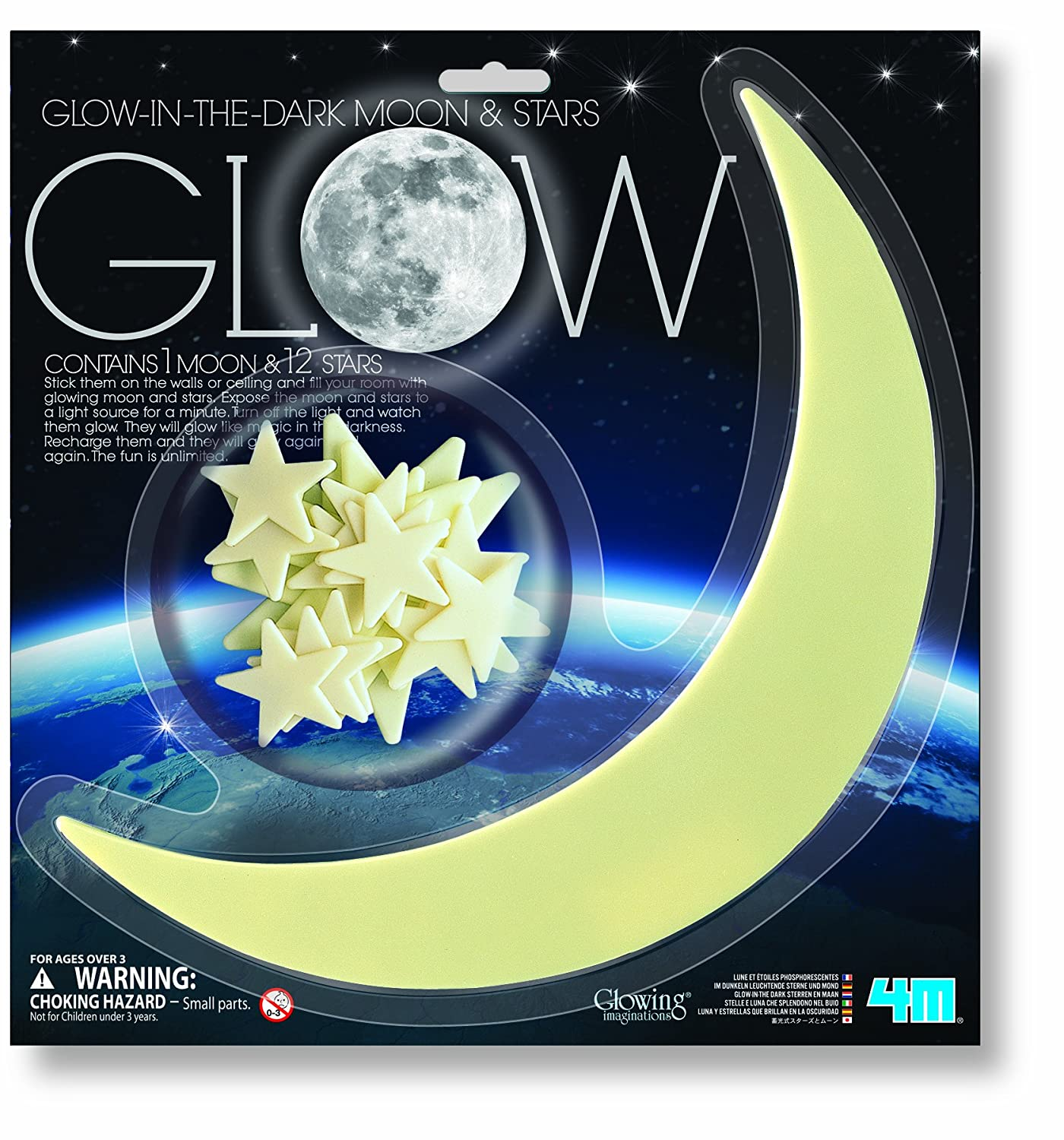M Glow Moon And Star Ciencia