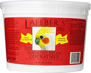 product image for LAFEBER'S Premium Daily Diet or Gourmet Fruit Pellets Pet Bird Food, Made with Non-GMO and Human-Grade Ingredients, for Cockatiels
