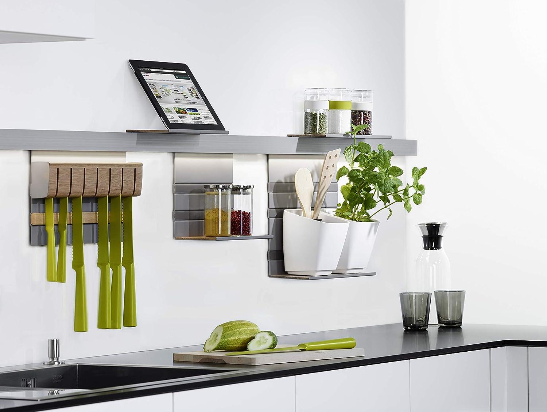 LINERO MosaiQ Starterset MINI Küchenreling Wand-Montage