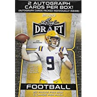 $42 » 2020 LEAF NFL DRAFT Football Series Factory Sealed Blaster Box with 2 Autographed Cards…