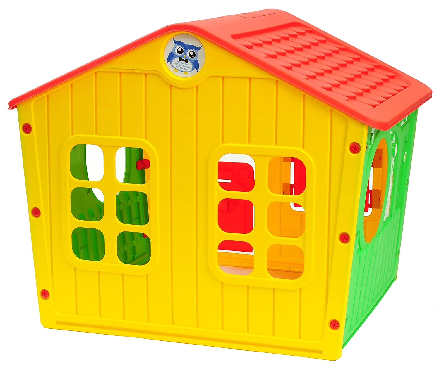 Amazon.com: Starplay Galilee Village Playhouse - Primary Color Combination: Garden & Outdoor