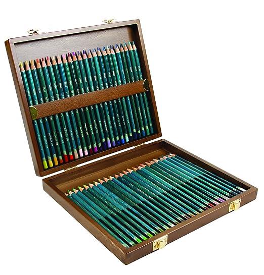 70 opinioni per Derwent Artists Matite Colorate in Scatola di Legno (Confezione da 48)