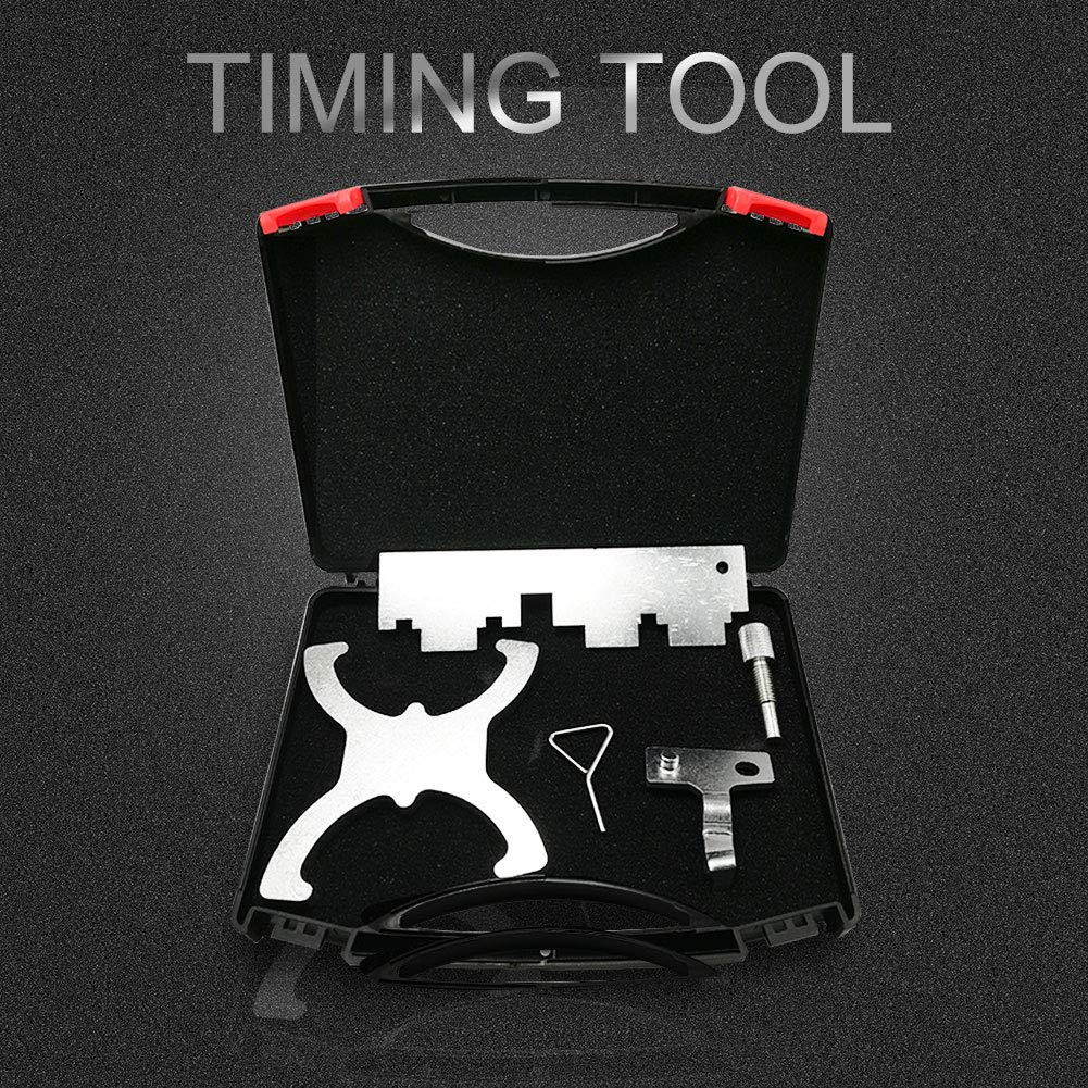 Elf Bee 1.5L & 1.6L Petrol Engine Belt Drive Locking Timing Tool Set for Ford Fiesta VCT Focus by Elf Bee (Image #1)