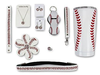 Amazon.com: Hierro banda VIP béisbol mamá paquete de regalo ...