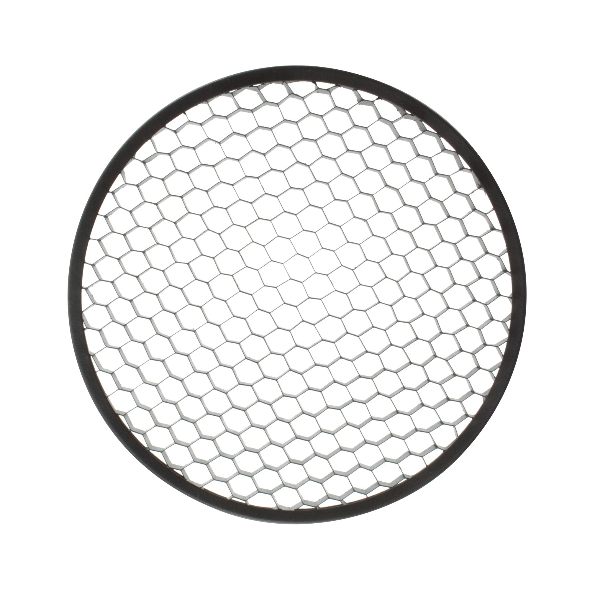Lightolier 8579 Lytespan Track Lighting Par-Tech Hex Cell Louver Accessory, Black