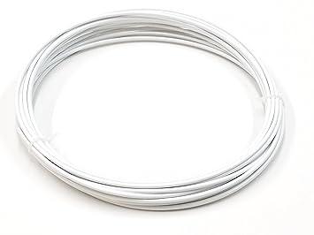 Alambre de soldadura de plástico PVC-U duro 4mm Blanco Redondo 10 ...