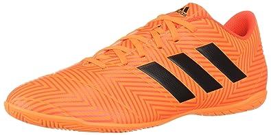 eaa91fc5e adidas Men s Nemeziz Tango 18.4 Indoor Soccer Shoe Zest Black Solar red  11.5 M