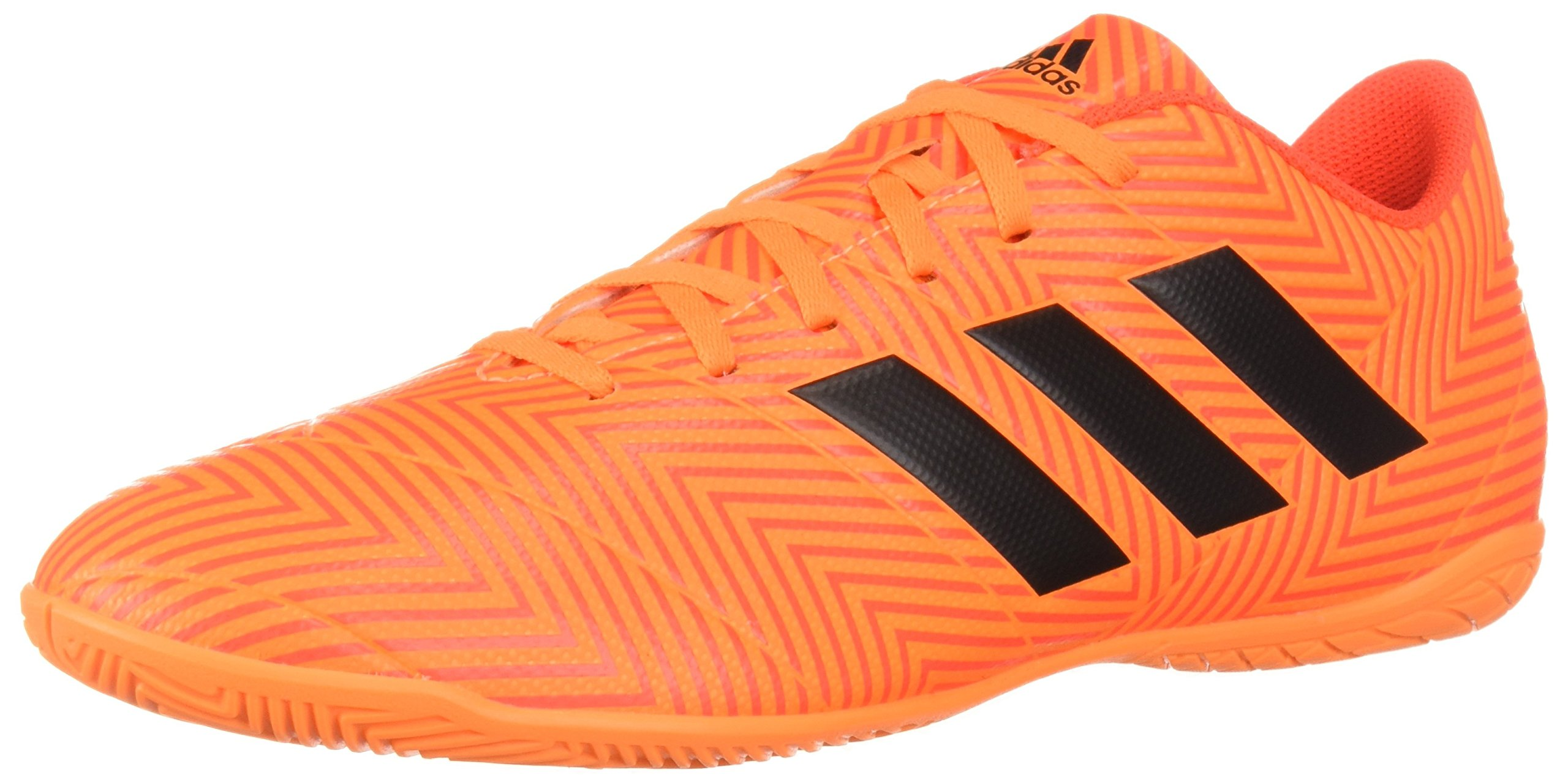 adidas Men's Nemeziz Tango 18.4 Indoor Soccer Shoe, Zest/Black/Solar Red, 11.5 M US