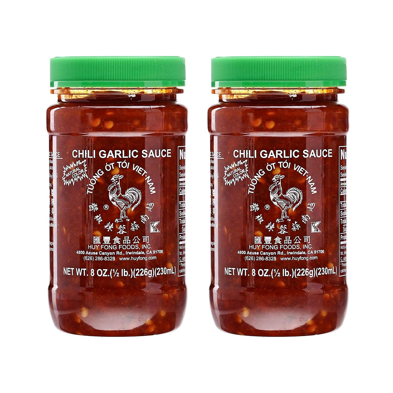 Huy Fong Vietnamese Chili Garlic Sauce, 8 Oz. (Pack of 2)