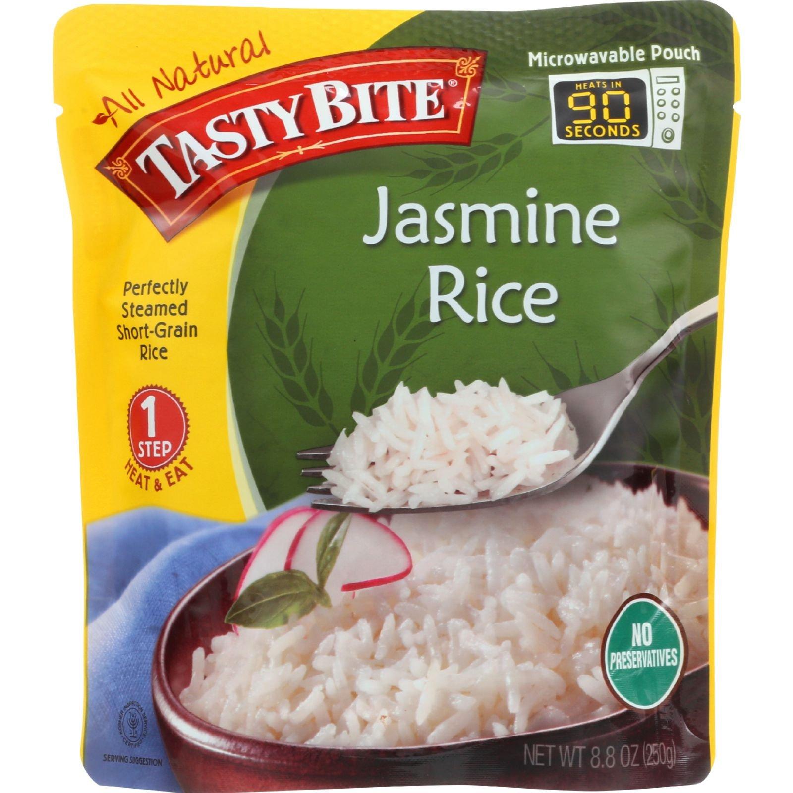 Tasty Bite Rice - Jasmine - 8.8 oz - case of 6 - Gluten Free -