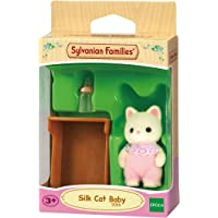Sylvanian Families Silk Cat Baby,Figure