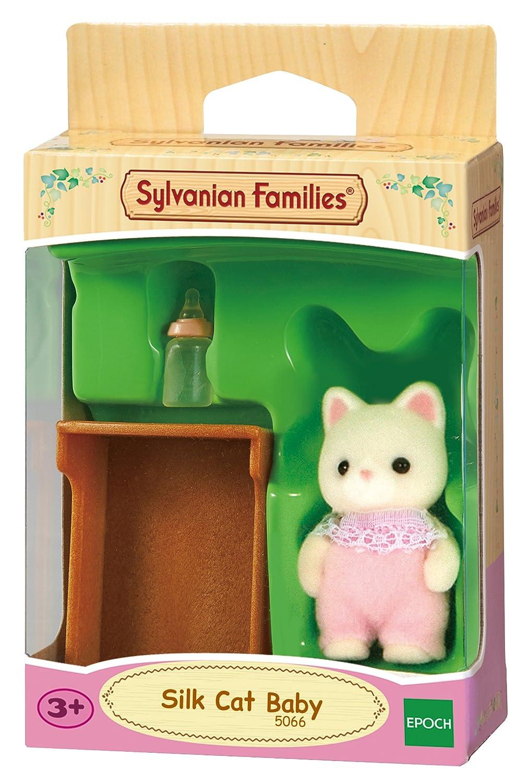 SYLVANIAN FAMILIES Silk Cat Twins Mini muñecas y Accesorios Epoch para Imaginar 5082: Amazon.es: Juguetes y juegos