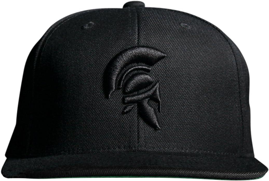 cc18c75707bc9 MARQUE NOIRE – Black Spartan Snapback - Cap
