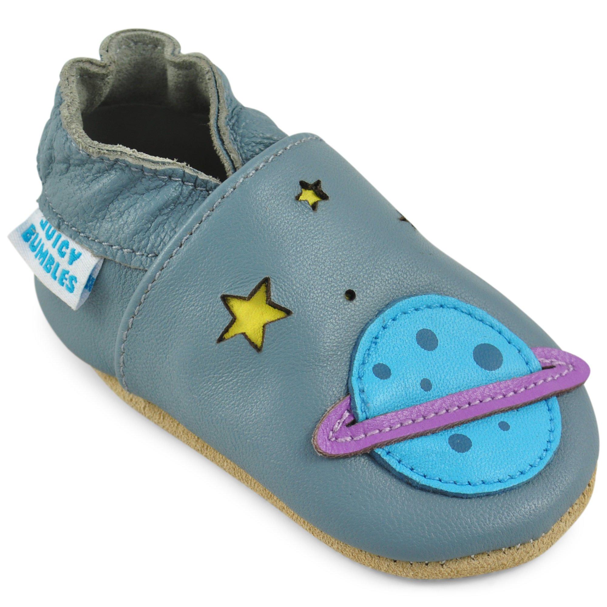 ecf0315e995 Zapatos Bebe Niña Niño – Zapatillas de Cuero – Patucos de Piel con Elástico  para Bebé