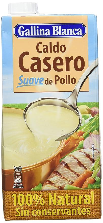 Gallina Blanca Caldo Casero Suave de Pollo, 100% natural - 1000 ml