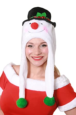 a41e6dd0f2f01 Image Unavailable. Image not available for. Colour  1 X ELF HAT WITH EARS  AND BIG RED STAR CHRISTMAS FANCY ...