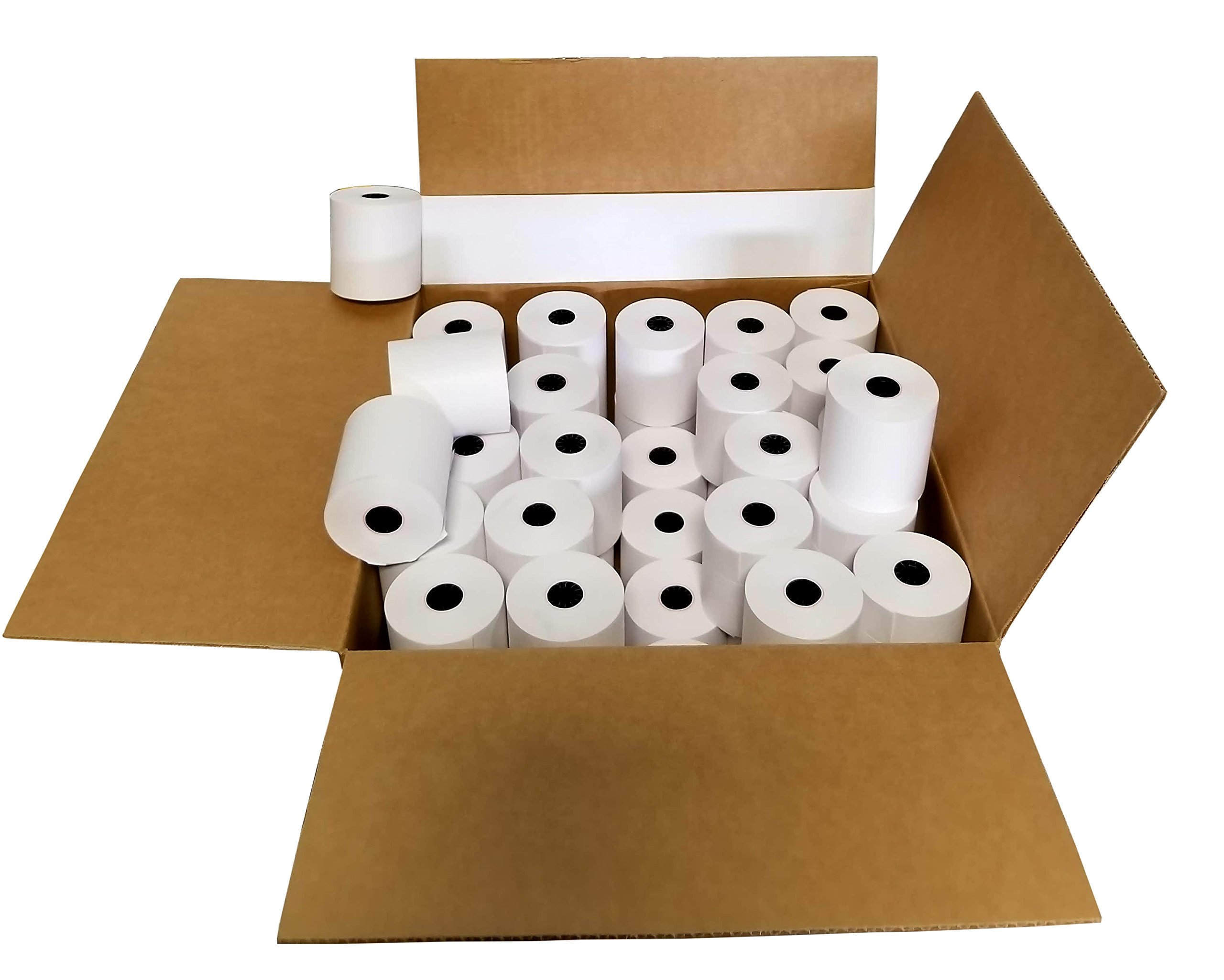 STAR SP700 3'' x 165' BOND (NON-THERMAL) PoS PAPER - 50 NEW ROLLS by WRB SUPPLY