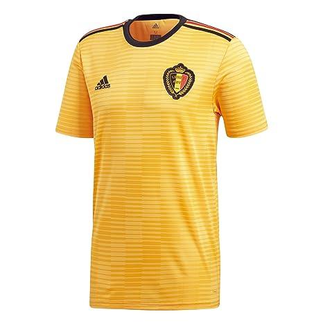 adidas Belgium Away Jersey Camiseta 152 Cuello Redondo Manga Corta Poliéster - Camisas y Camisetas (