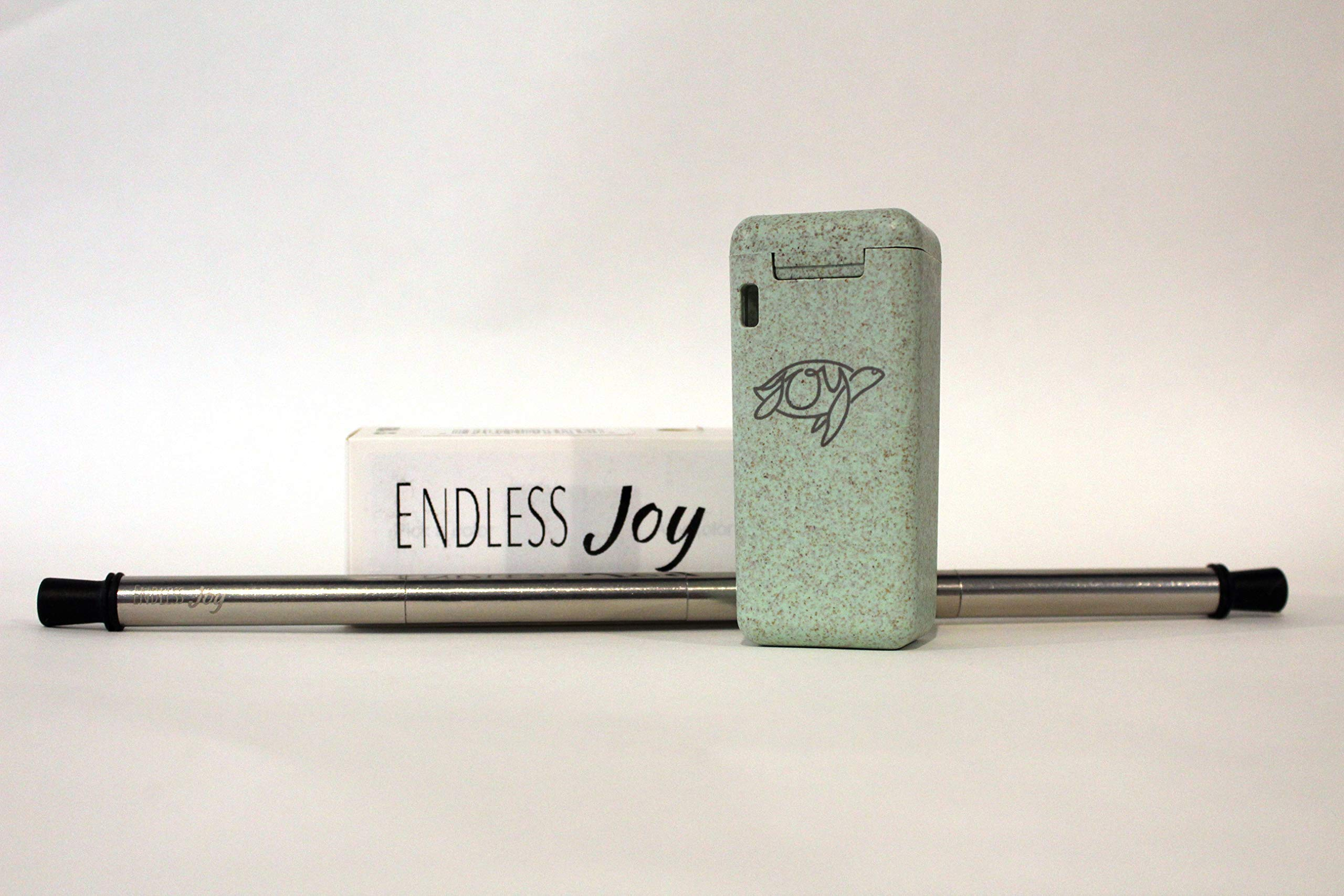 Stainless Steel Straw-Collapsible-Reusable-Portable and ECO Friendly! by Endless Joy