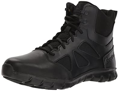 143116666d3908 Reebok Men s Sublite Cushion Tactical RB8605 Military   Tactical Boot Black  ...