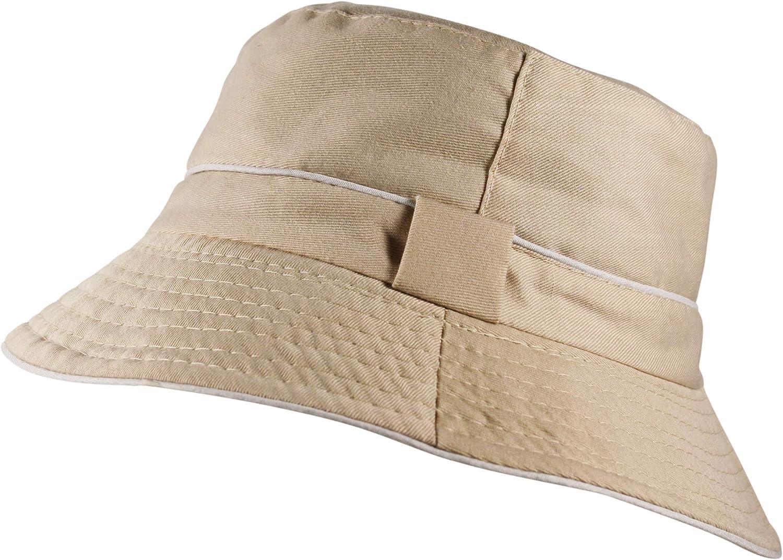 Itzu Premium Reversible Bucket Bush Hat 2 Tone Boonie Sun Unisex Mens Womens in Multiple Colours