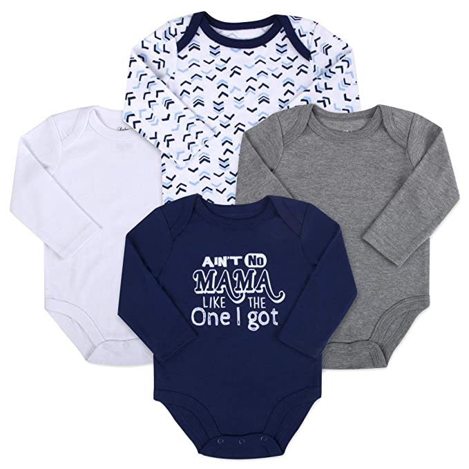 Amazon.com: Baby Essentials - Conjunto de mono de algodón de ...