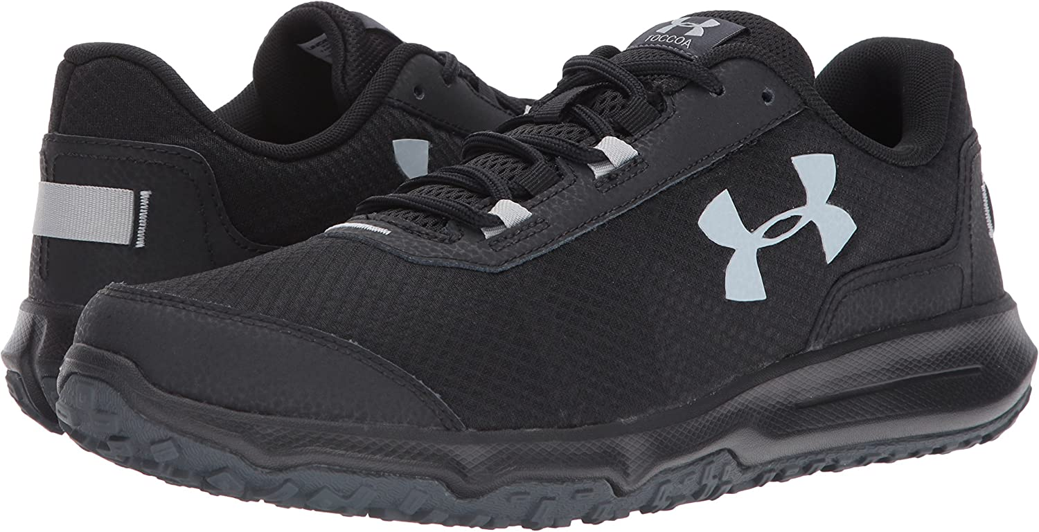 Under Armour Zapatillas para correr Under Armour Mens Toccoa, Stealth Gray / Black, 8 D (M) US: UNDER ARMOUR: Amazon.es: Zapatos y complementos