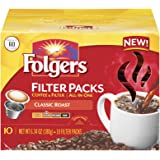 Folgers Filter Packs Classic Roast Coffee, 6.34 Ounce (Pack of 6)