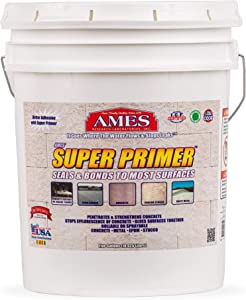 AMES 5 Gallon Super Primer Unique, 5 gal, Clear