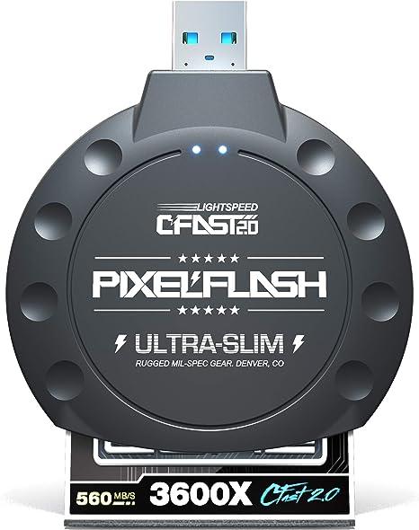 Amazon.com: PixelFlash - Lector de tarjetas USB 3.0 sin ...