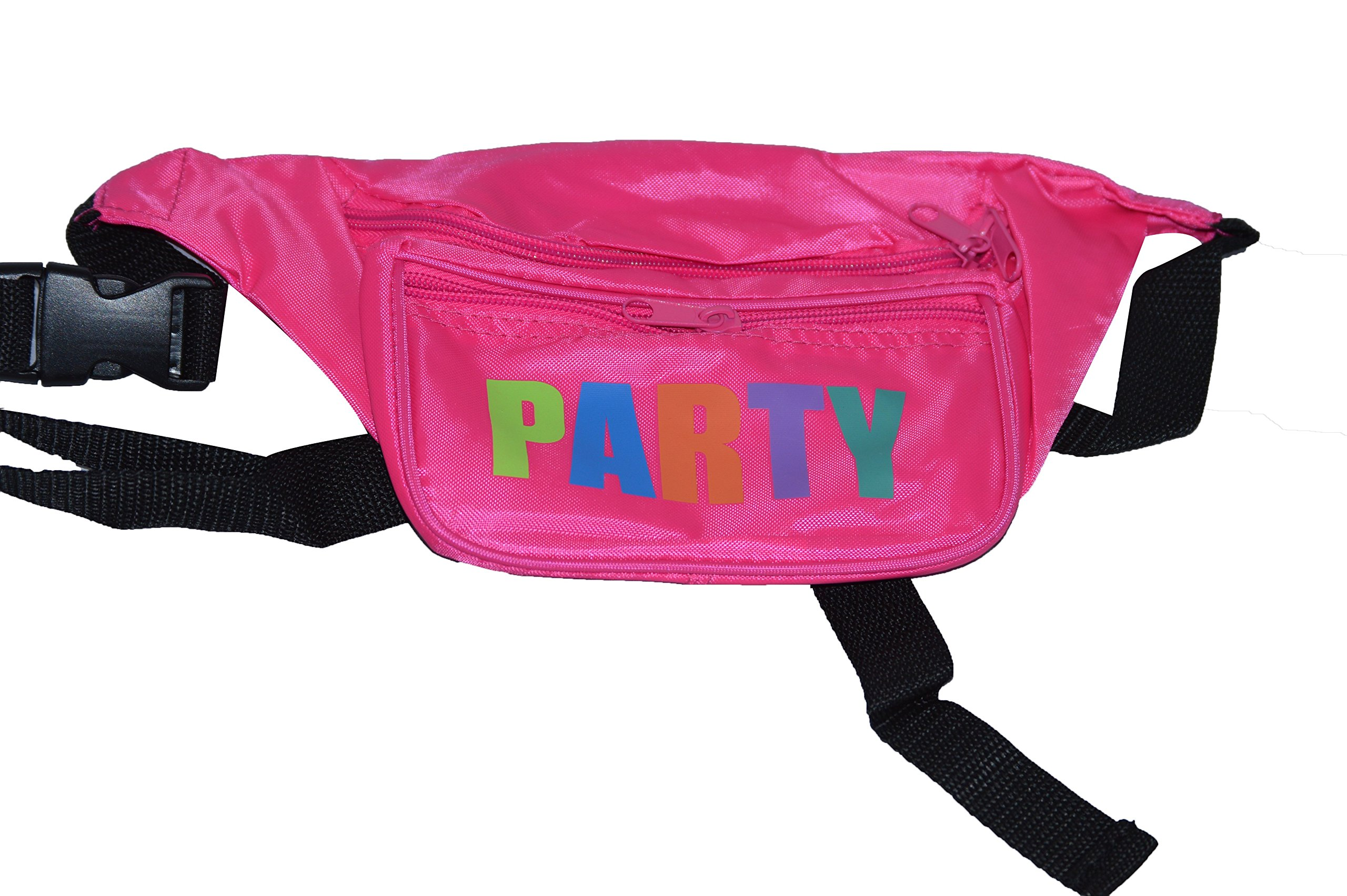 Bam Products- Neon Fanny Party Pack (Pink-Multi)