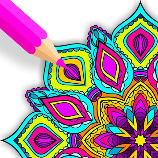 Zen Mandala Coloring Book