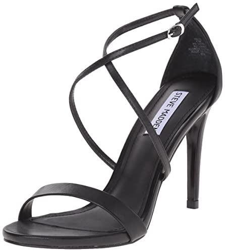 d6fbedf4b41 Steve Madden Women s Feliz Dress Sandal Black 6 ...