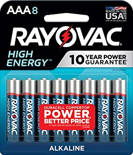product image for Rayovac AAA Batteries, Alkaline Triple A Batteries (8 Battery Count)