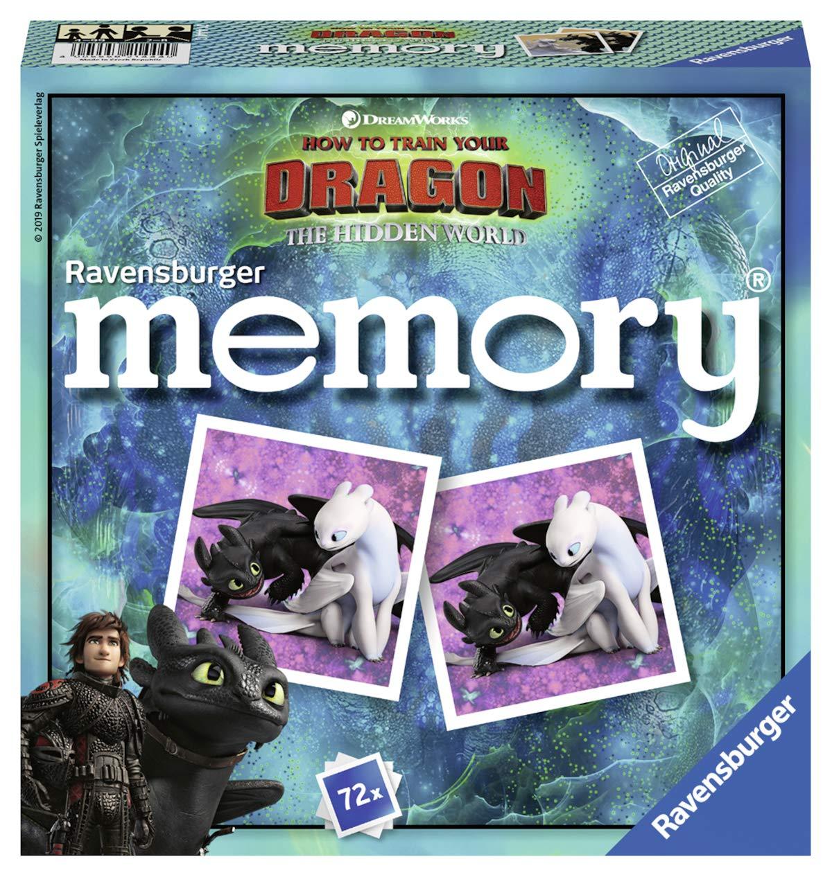 Ravensburger 21444 Ravensburger 21444 Dragons 3 Memory-Funny Children's Games Ravensburger Spieleverlag