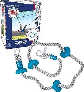American Ninja Warrior Dual Climbing Rope- 8ft Long with Dual use