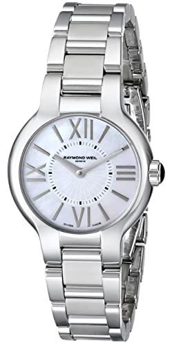 Raymond Weil Women s 5927-ST-00907 Noemia Mother-Of-Pearl Dial Watch