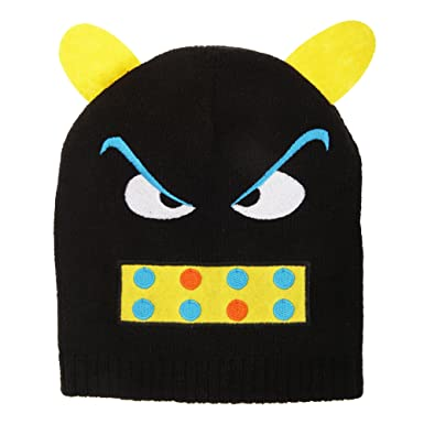 e44e087a46c13 Universal Textiles Childrens Kids Monster Design Winter Beanie Hat (One  Size) (Black