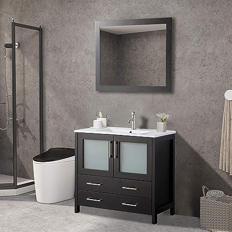 Vanity Art 36 Inch Single Sink Modern Bathroom