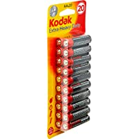 Kodak Super Heavy Duty AA 20 Pack Zinc Batteries (30926950)