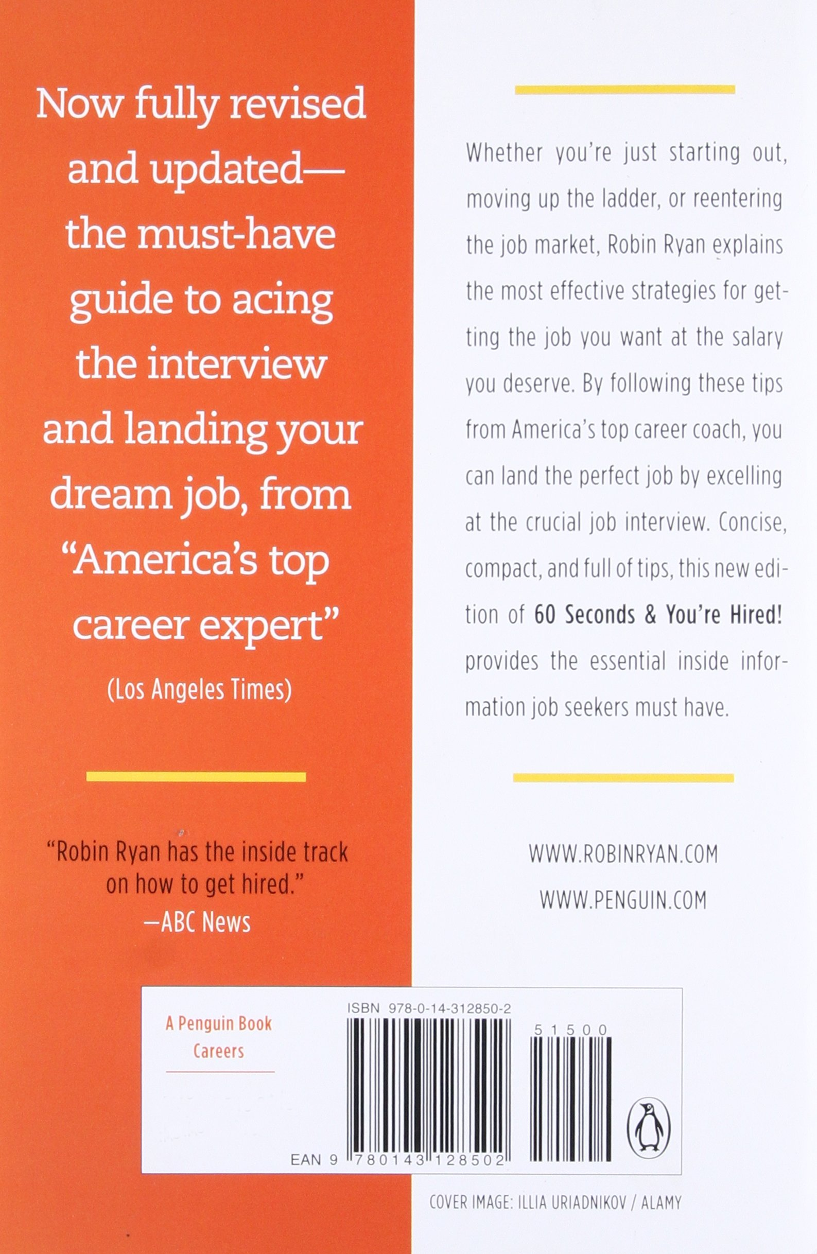 60 Seconds and You're Hired!: Revised Edition: Robin Ryan