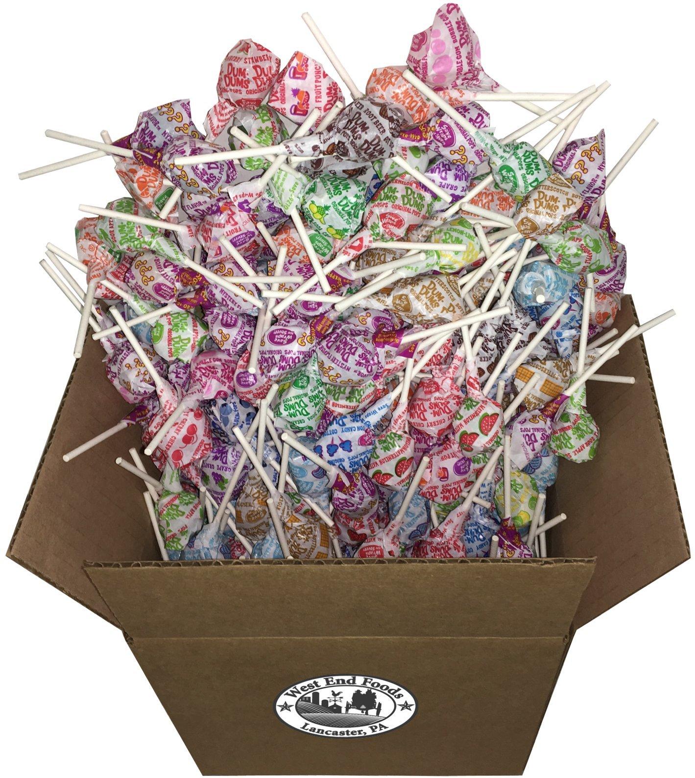 Bulk Assorted Dum Dums Lollipops Candy (5 lbs) by West End Foods (Image #3)