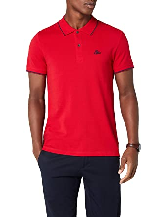 edc by Esprit 028cc2k036, Polo para Hombre, Rojo (Red 630), Small ...