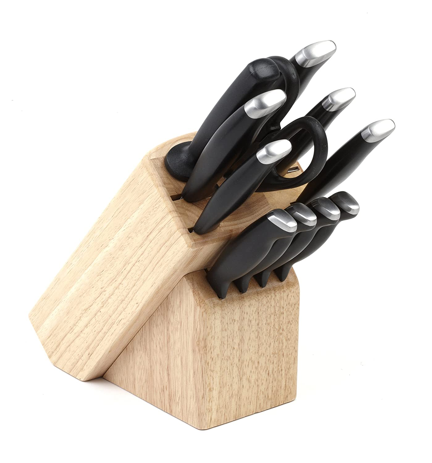 Salter BW02263 Elegance Essential 12 Piece Knife Block Set: Amazon.co.uk:  Kitchen U0026 Home