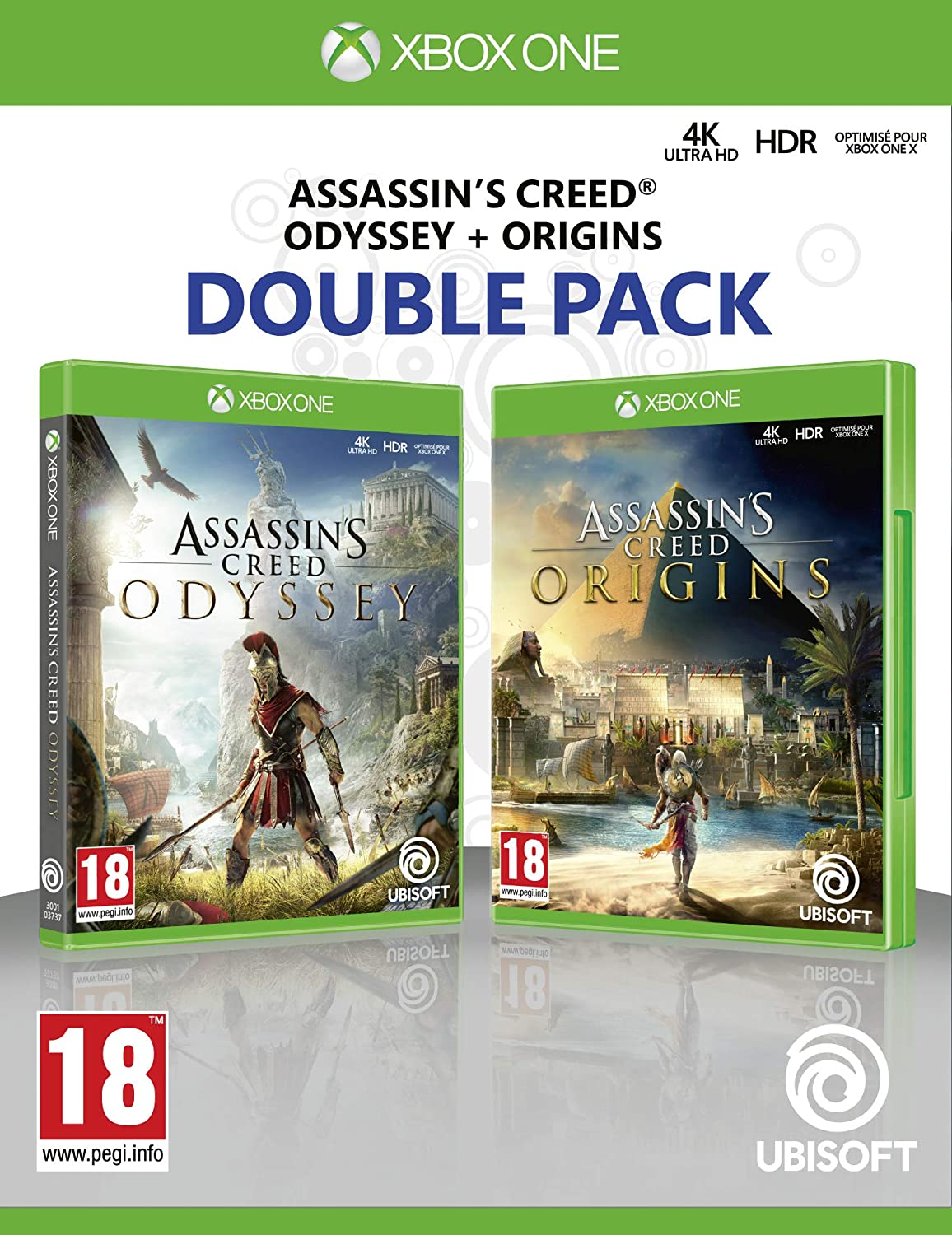 Double Pack: Assassins Creed Odyssey + Assassins Creed Origins: Amazon.es: Videojuegos